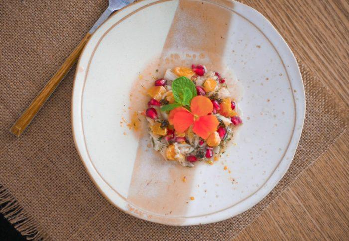Ceviche de Dorade aux Agrumes & Caviar Perlita