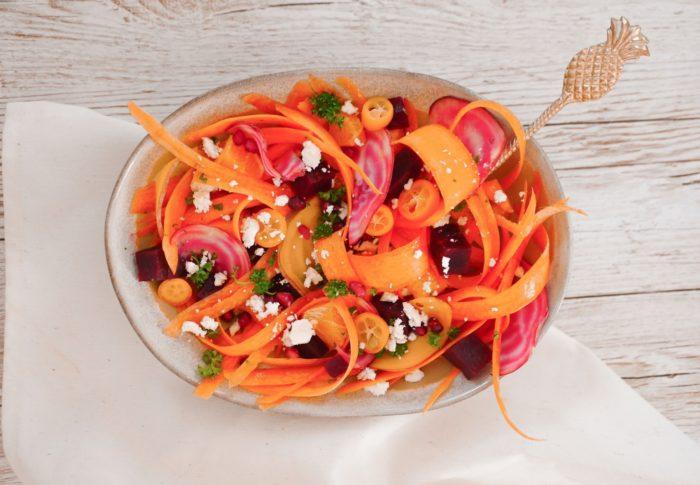Salade de Carottes & Betteraves aux Agrumes