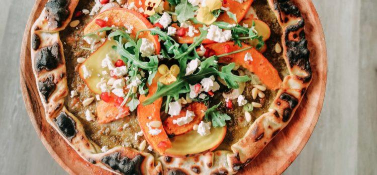 Pizza d'automne avec Ooni