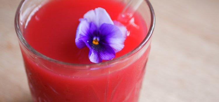 Red Juice avec Paille Little pots